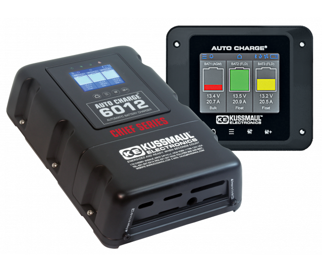 Chief Series Smart Charger 6012 With Remote Display