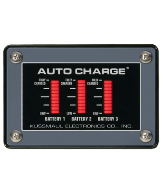 Auto Charge 20 /Euro Charger III Triple Bar Graph Display