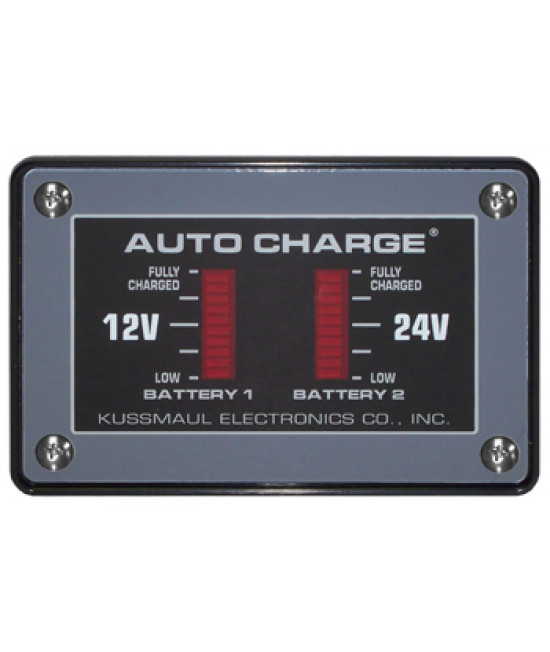 Auto Charge 24/12 HO Dual Bar Graph Display