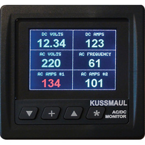 Generator AC/DC System Monitor