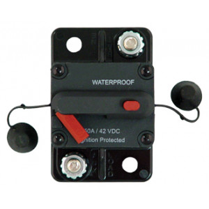 Waterproof, High Amperage  Surface Mount Circuit Breakers