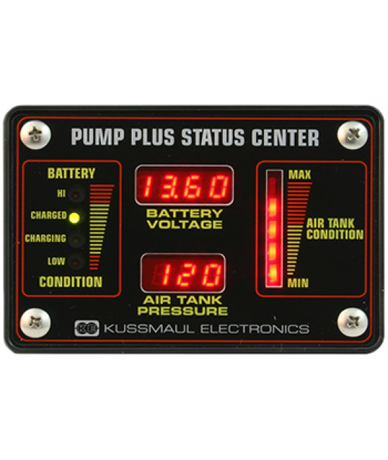 Pump Plus Status Center