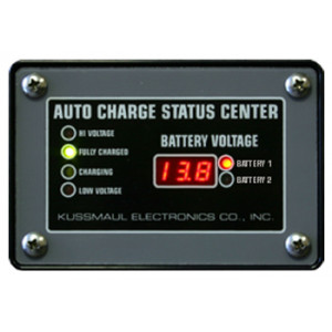 Universal Digital Battery Charger Indicators