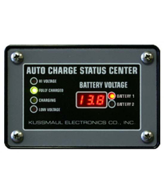 Auto Charge Dual Status Center 2 1/2  Digit, with battery 1 and 2 display