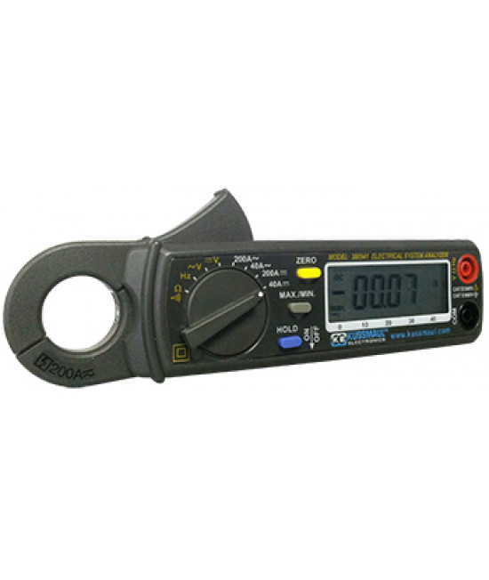 DC/AC Clamp On Meter
