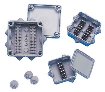 waterproof junction boxes px series