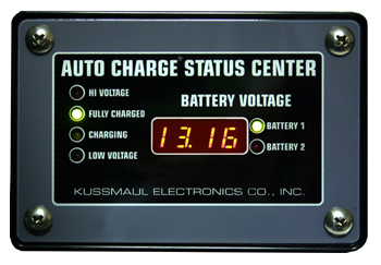 auto charge dual status center 3 1/2 digit