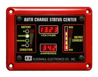 watertight auto charge deluxe status center