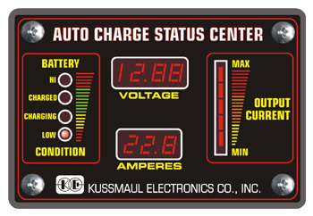 auto charge deluxe status center