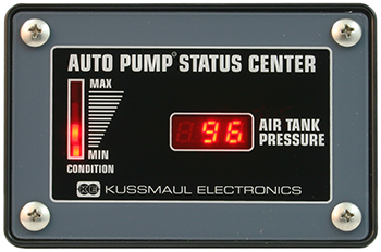 auto pump status center psi only