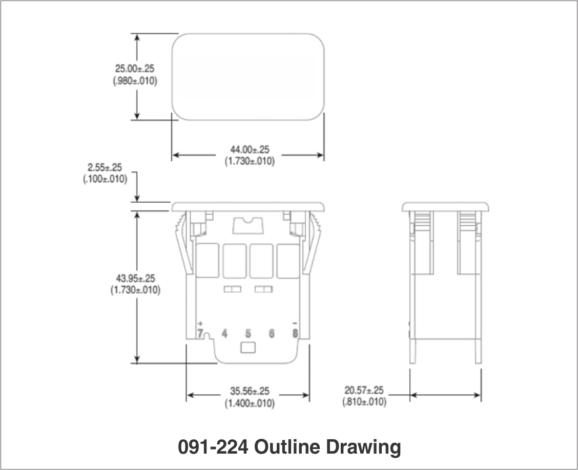 091-224 outline drawing