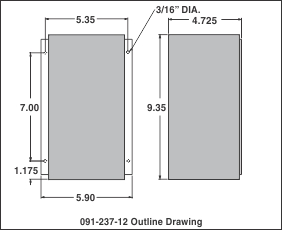 091 237 12_outline_drawing kussmaul electronics auto charge 2000 plc, model 091 237 12 kussmaul auto charge 1200 wiring diagram at panicattacktreatment.co