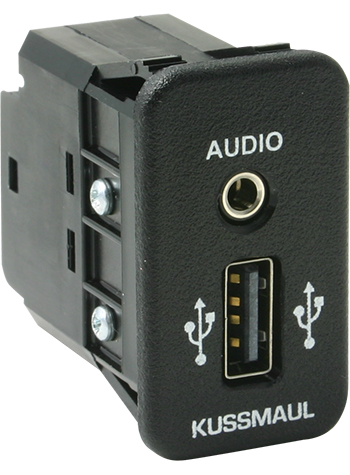 KUSSMAUL AUX/USB Pass-Through